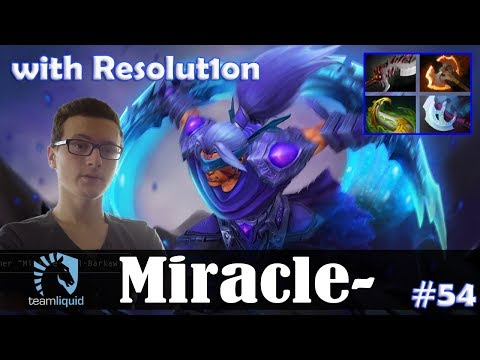 Miracle - Anti-Mage Safelane | with Resolution (Templar Assassin) | Dota 2 Pro MMR Gameplay #54 thumbnail