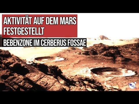 Aktivität auf dem Mars festgestellt - Bebenzone im Cerberus Fossae