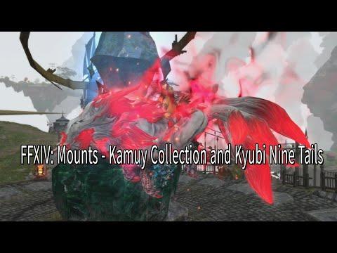 FFXIV Mounts: Kamuy Collection + Kyubi