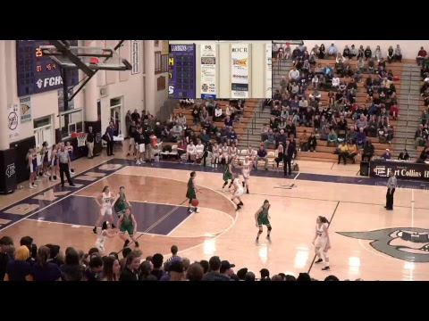 Fossil Ridge High School Varsity Girls vs Fort Collins High School