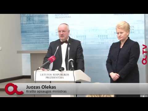 Dalia Grybauskaitė ir Juozas Olekas (interviu)