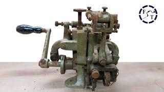 1960s Hand-Cranked Saw Set Restoration