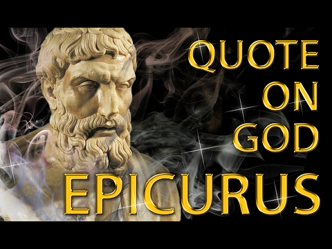 Epicurus Quote On God