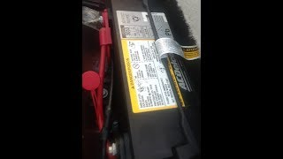 Buick Lucerne Battery Location and How to Jump Start