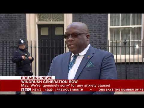 St.Kitts-Nevis Prime Minister Dr. Timothy Harris Addresses British Media
