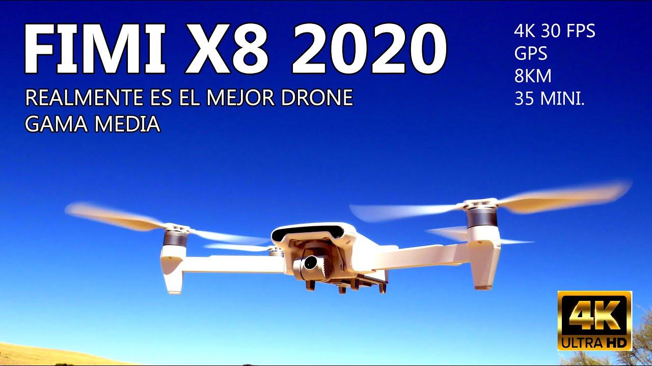 FIMI X8 2020, Lo volamos,🤔 ES EL MEJOR DRONE CAMARA ECONOMICO?