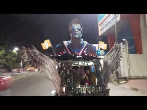 Rajinikanth 2.0 Share Auto viral video