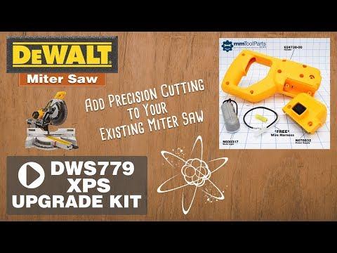 Dewalt 779 Dws780 Double Bevel Compound Sliding Miter