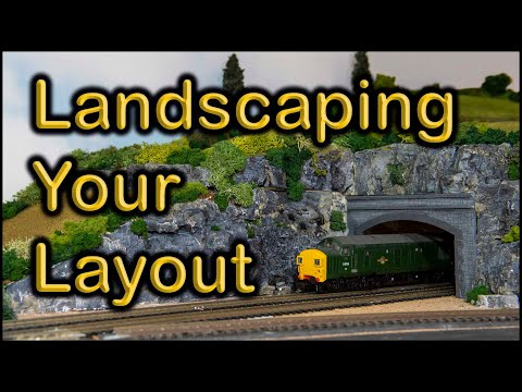 Landscaping model railways at Chadwick Model Railway | 99.