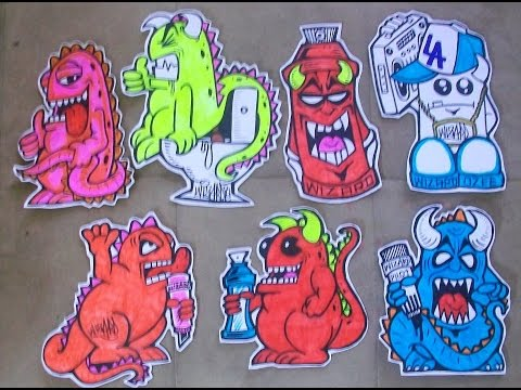 Cholowiz Drawings Collection cool characters and stickers ...