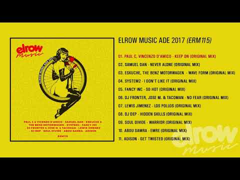 "ELROW MUSIC ADE 2017 ""Various artist"""