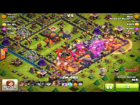 Clash Of Clans - Haste Spell With LavaLoon #2