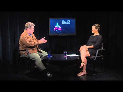 Italics:  Lucia Grillo interviews actor Michael Badalucco