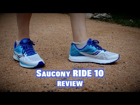 b7589413 SAUCONY RIDE 10 REVIEW - YouTube