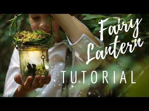 DIY Fairy Night Light - Fairy Lantern - Glow Jar -