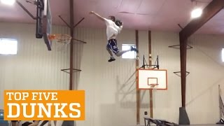 PEOPLE ARE AWESOME: TOP FIVE - DUNKS