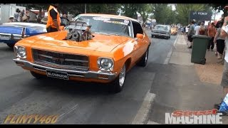 Tuff St, Cruising & Show and Shine at Summernats 28