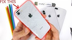 iPhone Back Glass Fix The 'EASY' Way - Plus Clear Mod