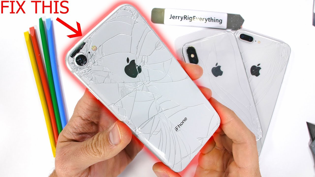 huge discount 9a8e6 77fa2 iPhone Back Glass Fix The 'EASY' Way - Plus Clear Mod