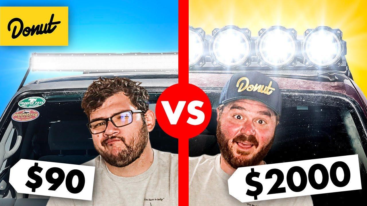 $90 vs $2000 Off-Road Lights