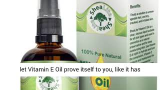 Vitamin E Oil 100% Natural Pure