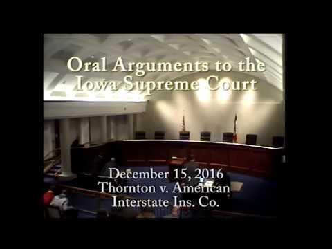 1501032 Thornton v. American Interstate Ins. Co.. December 15, 2016