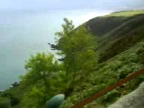 Isle of Man Transport:Bulgham on the Manx Electric Railway