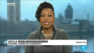 Activist Shola Mos-Shogbamimu: 'The tide is turning but it's still a man's world'