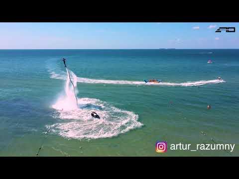 Флайборд Украина - Артур Разумный - Flyboard Ukraine - Artur Razumny Коблево 2019