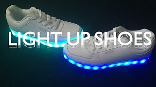 LIGHT UP SHOES UNBOXING