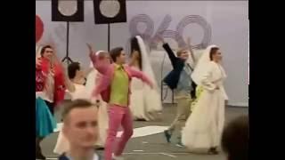 """Никита Михалков """"Я шагаю по Москве"""" день города 10.09.2016"""
