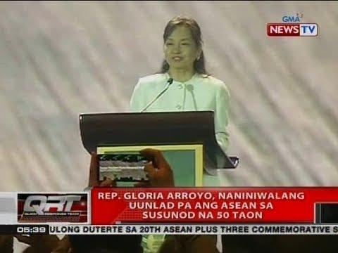 QRT: Rep. Gloria Arroyo, naniniwalang uunlad pa ang ASEAn sa susunod na 50 taon