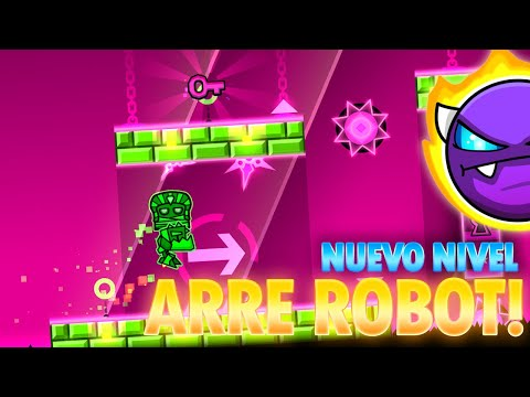 """ARRE ROBOT"" por IZhar - 2 player mode - Geometry Dash"