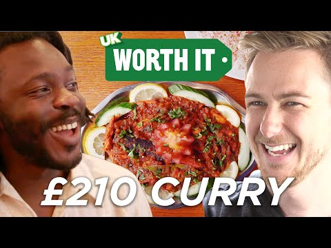 Thumbnail: £4 Curry Vs. £210 Curry