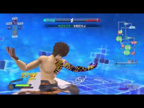 Fate/Extella - Caster / Archimedes Gameplay フェイト/エクステラ