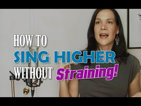 How To Sing Higher Without Straining - YouTube