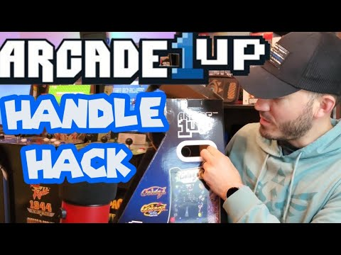 Arcade 1up  Life Hacks #1 from The Switch Bit