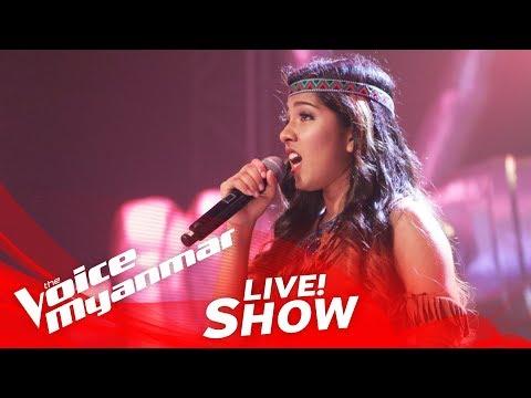 "Grace Monica: ""Colors Of The Wind"" - Live Show - The Voice Myanmar 2018"