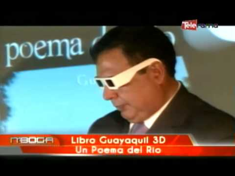 Libro Guayaquil 3D un poema del río