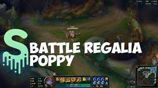 Battle Regalia Poppy Skin Spotlight - League of Legends