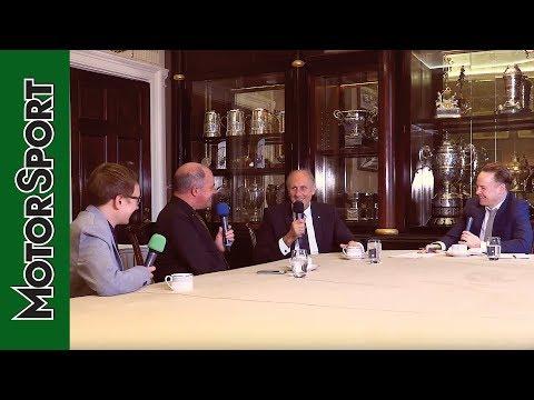 Hans Joachim Stuck: Royal Automobile Club Talk Show