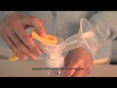 Philips Avent Manual Breast Pump Educational Video