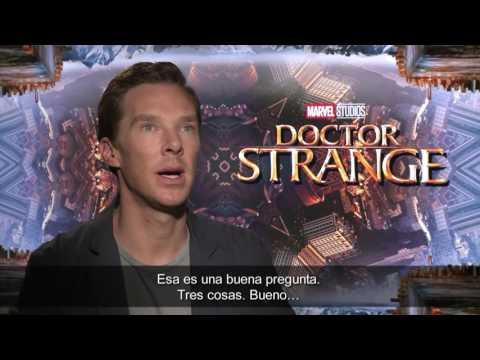 Entrevista a Benedict Cumberbatch - Doctor Strange