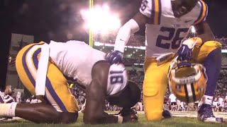 Raw Highlights: LSU vs. Mississippi State Football