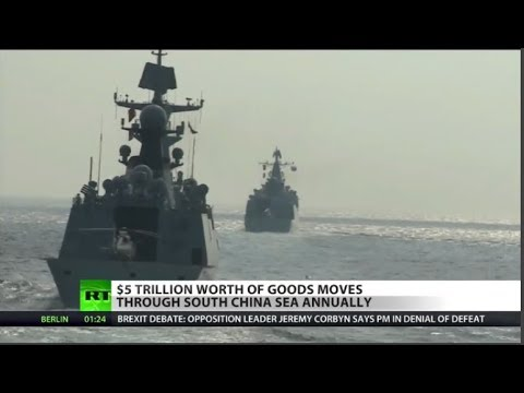 South China Sea, Strait of Taiwan Conflict