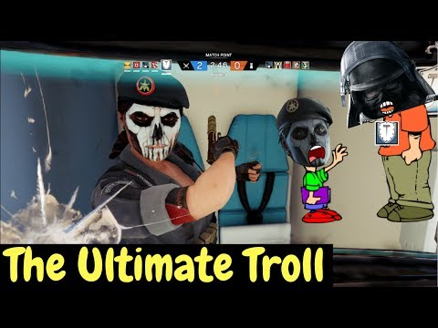 The R6 CyberBully - Rainbow Six Siege