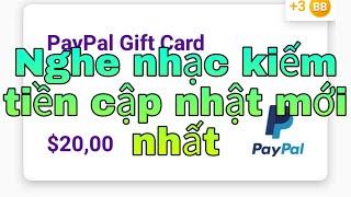 🎶nghe nhạc giải trí kiếm tiền 💵 online/Current reward
