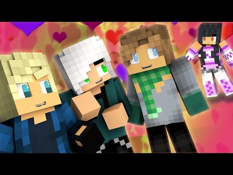 Secret Lovers - Valentine's Date PT.1 | Minecraft MyStreet [Ep.24 Minecraft Roleplay]