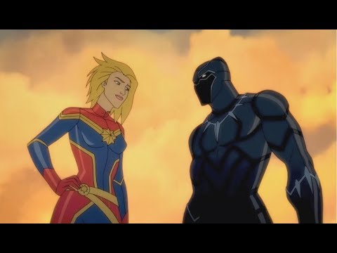 Black Panther vs Captain Marvel