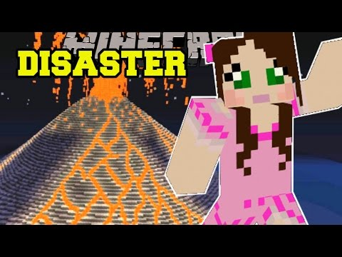 Thumbnail: Minecraft: NATURAL DISASTERS! (FIRESTORMS, EARTHQUAKES, & POISON GAS!) Custom Command